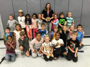 Ms. Sheahan and Class October 2019