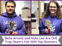 Arnotti & Lee are CHS Trap Team's Fall 2019 Top Shooters