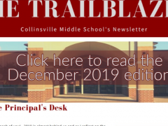 December 2019 CMS Trailblazer Parent Newsletter
