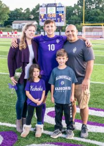 Coppotelli Family Soccer Senior Night 2019