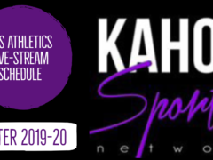 Kahoksports.com Announces Winter 2019-20 Live-Stream Schedule
