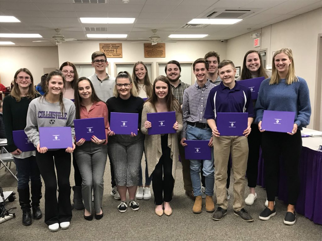 2020 CHS IL State Scholars at BOE