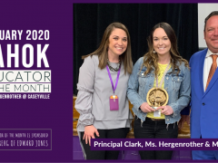 February 2020 Educator of the Month