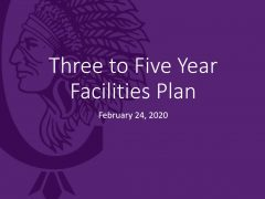 District Releases 2020 Three-Five Year Facilities Plan