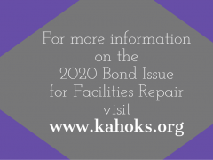 Video Message from Dr. Skertich Explaining 2020 Bond Issue for Facilities Repair