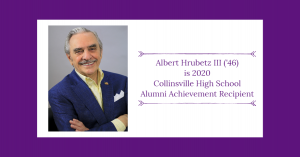 Albert Hrubetz II is 2020 Alumni Achievement Recipient