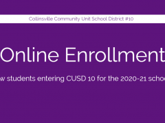 Online Enrollment for New Students Begins June 1, 2020