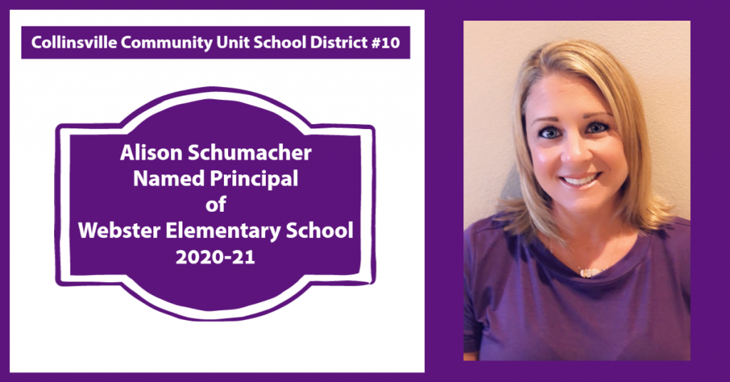 Alison Schumacher Webster Principal 2020-21