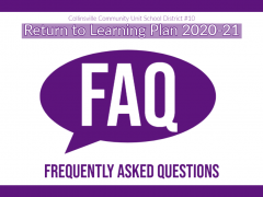Updated Return to Learning FAQ (8/7/20)