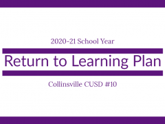Announcement of 2020-21 Return to Learning Plan