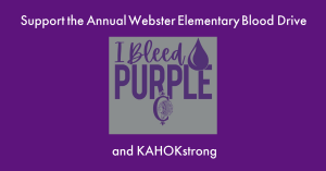 2020 Webster Blood Drive and T-shirts