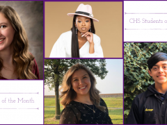 CHS Seniors/Students of the Month Aug-Sept 2020
