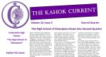 Masthead of 2nd Qtr 20-21 Kahok Current