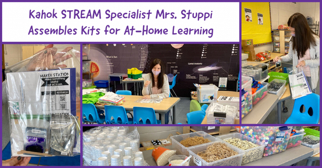 STREAM Specialist Mrs. Stuppi Makes Kits