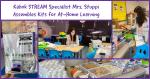 STREAM Specialist Mrs. Stuppi Makes Kits