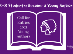 Information for 2020-21 K-8 Young Authors