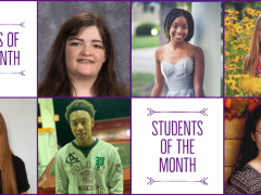 CHS SENIORS/STUDENTS OF THE MONTH Oct-Nov 2020
