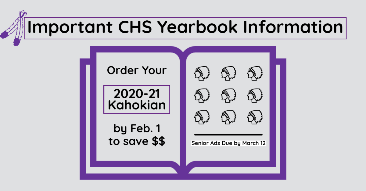 CHS 2020-21 Yearbook Orders