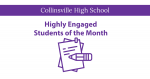 Highly Engaged Students of the Month
