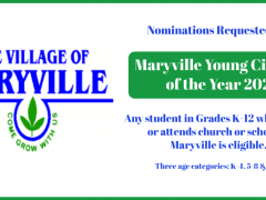 Maryville Seeking Nominations for 2021 Young Citizens Awards