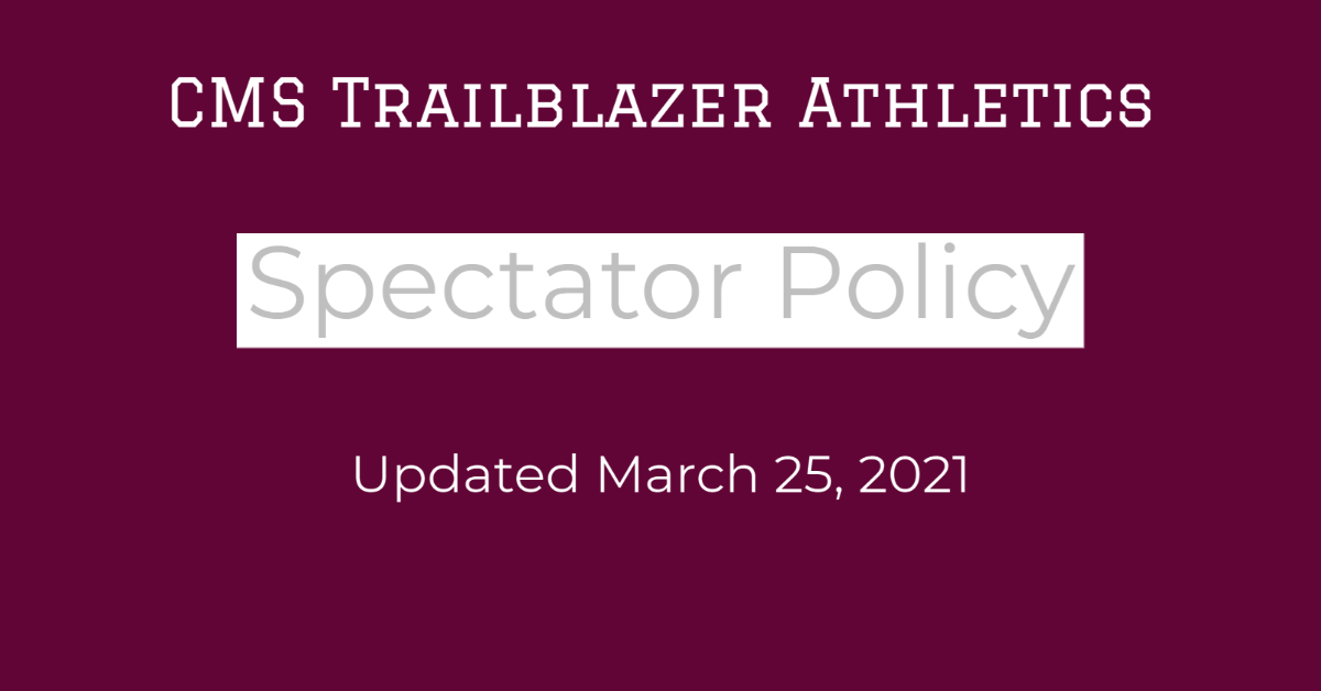 CMS Athletics Phase 4 Guidelines Updated March 25