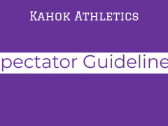 Spectator Guidelines for CHS Athletics March 2021