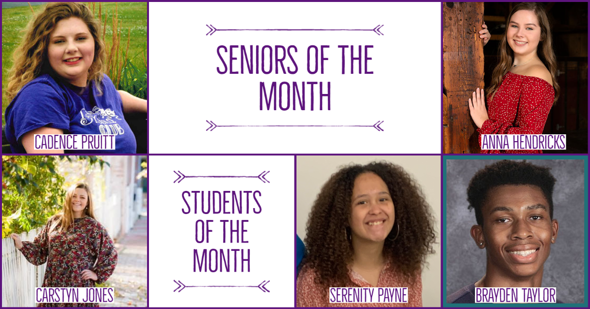 CHS Feb- Mar 21 Seniors_Students of the Month