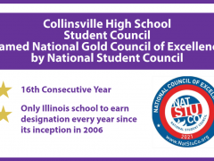 CHS STUCO Named National Gold Council of Excellence for 16th Year