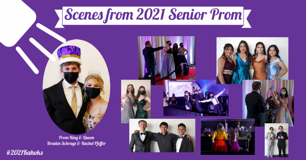 2021 Collinsville HS Prom Photo Collage